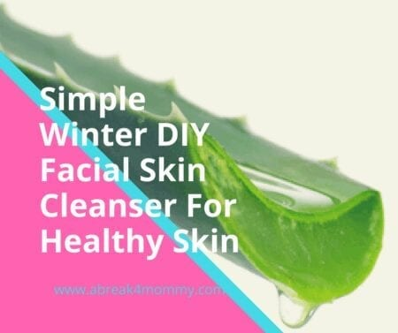 diy skin cleanser