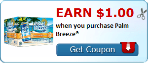 Earn $1.00 when you purchase Palm Breeze®