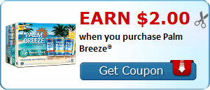 Earn $2.00 when you purchase Palm Breeze®