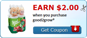 Earn $2.00 when you purchase good2grow®