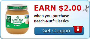 Earn $2.00 when you purchase Beech-Nut® Classics
