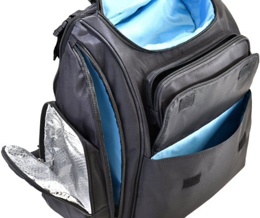 bag nation diaper bag backpack with stroller straps a break 4 mommy. Black Bedroom Furniture Sets. Home Design Ideas