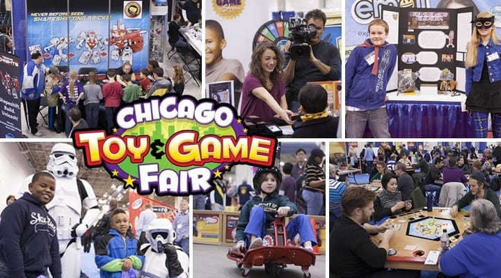 #ChiTag: Come Play at the Chicago Toy & Game Fair highlights of kids playing