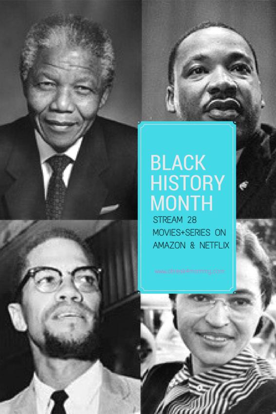 Black History Month movies amazon