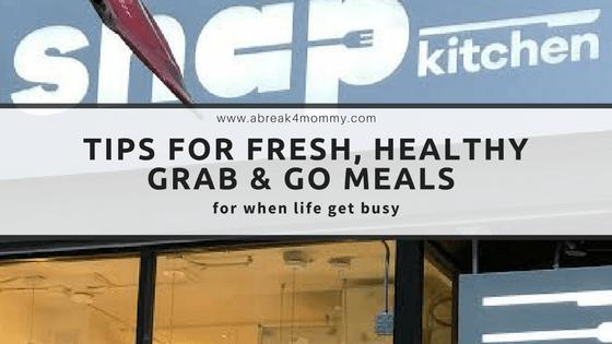 Snap Kitchen Fresh, Healthy Grab & Go Meals