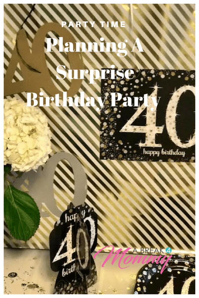 Party The Surprise For My Husband Was Amazing I Loved Planning It Getting All Decoration Seeing His Face When He Walked In And Hosting