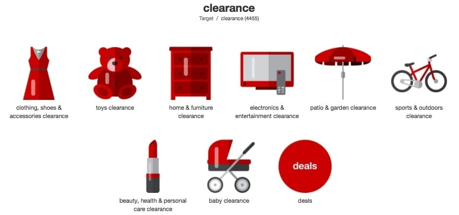 Target Clearance Ad for Toys and Electronic
