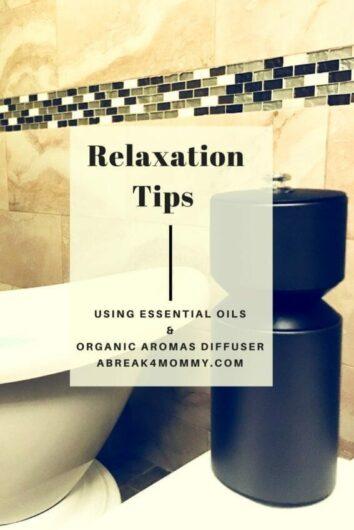Using Essential Oils and Organic Aromas Diffuser