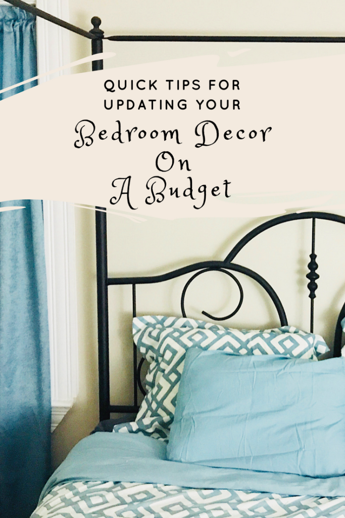 Bedroom decor o a budget