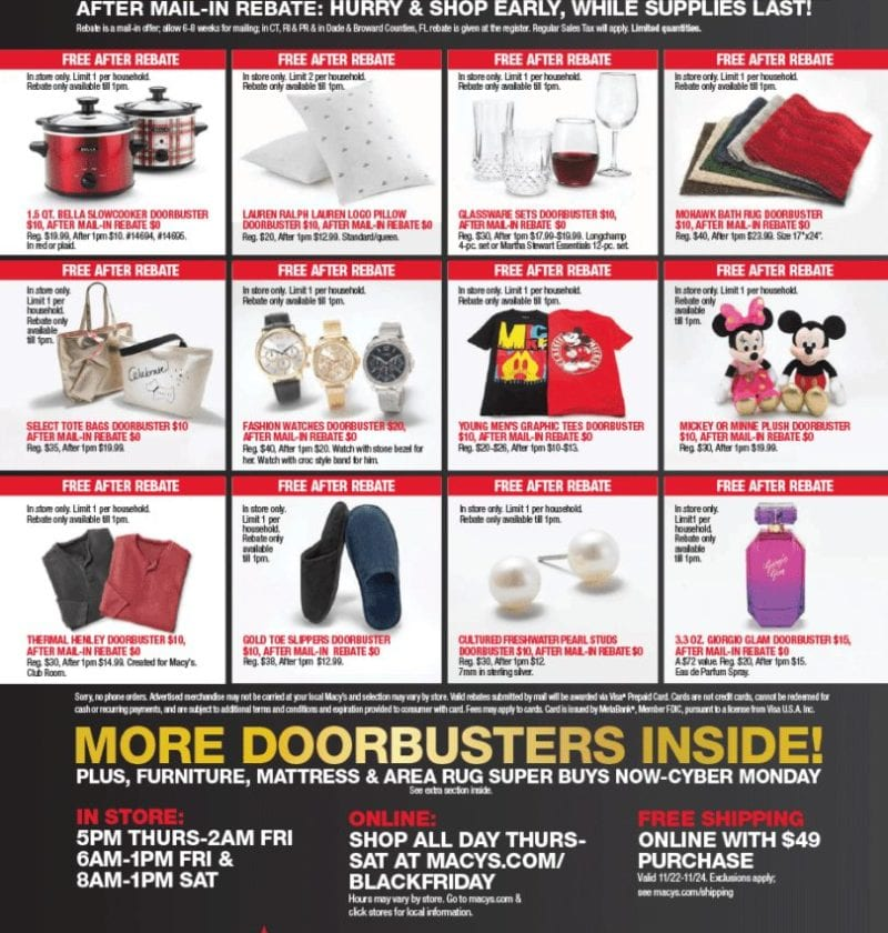 Macy's Black Friday Ad2018