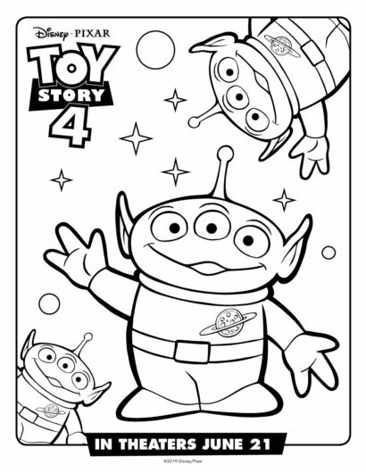 Free Toy Story 4 Printable Coloring Pages+Activity Sheets | A Break ...