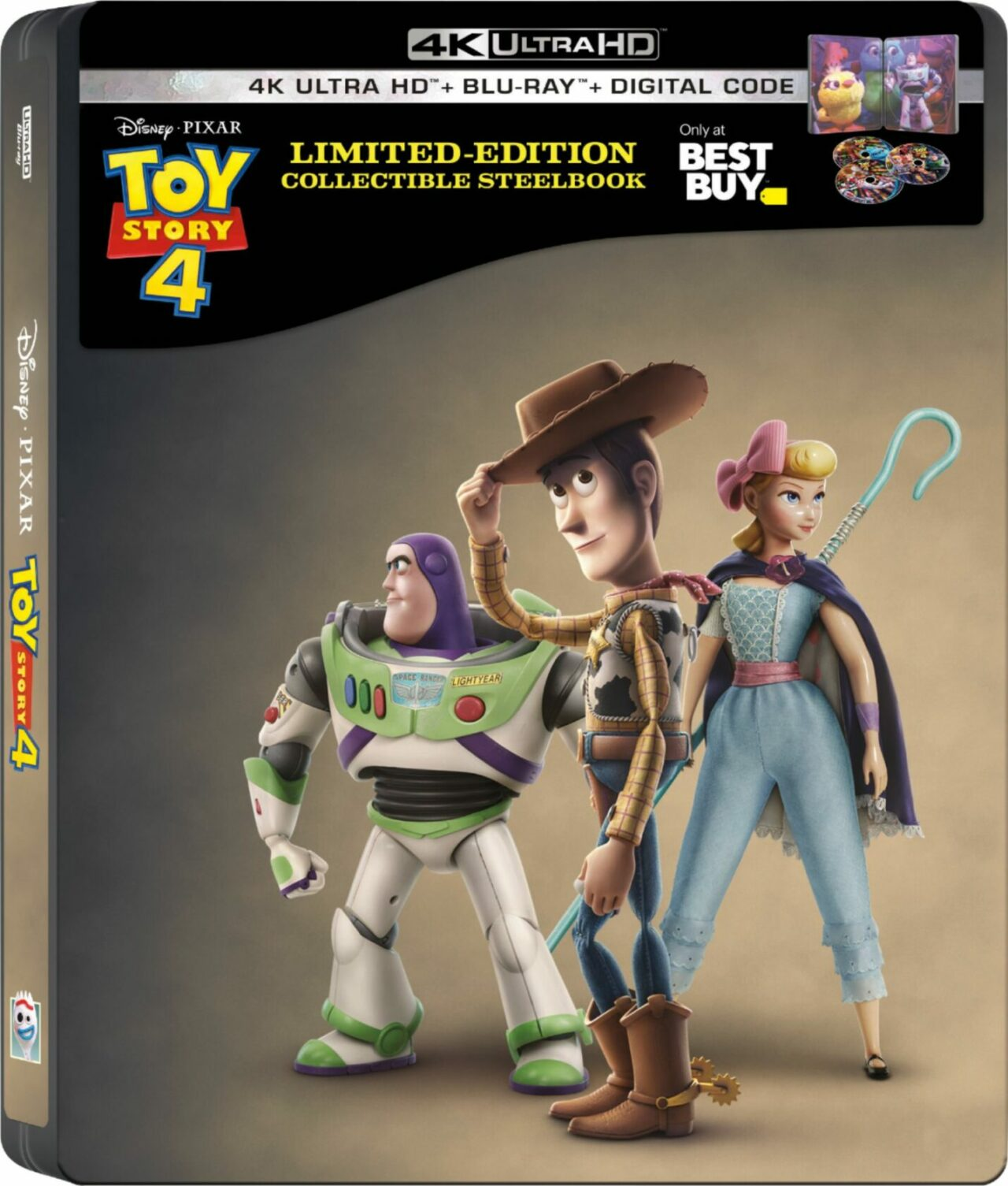 Toy Story 4 Blue Ray