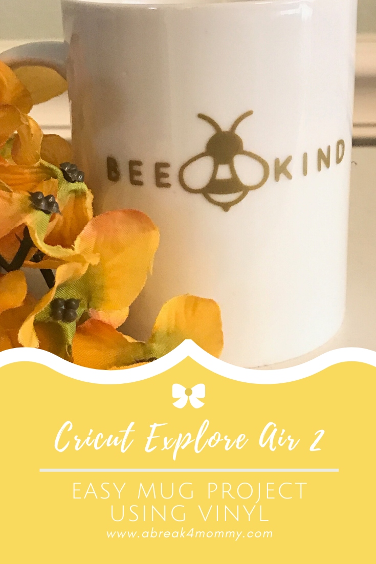 Cricut Explore Air 2 Easy Mug Project