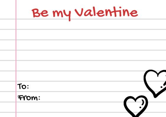 DIY FREE Valentine's Day Card