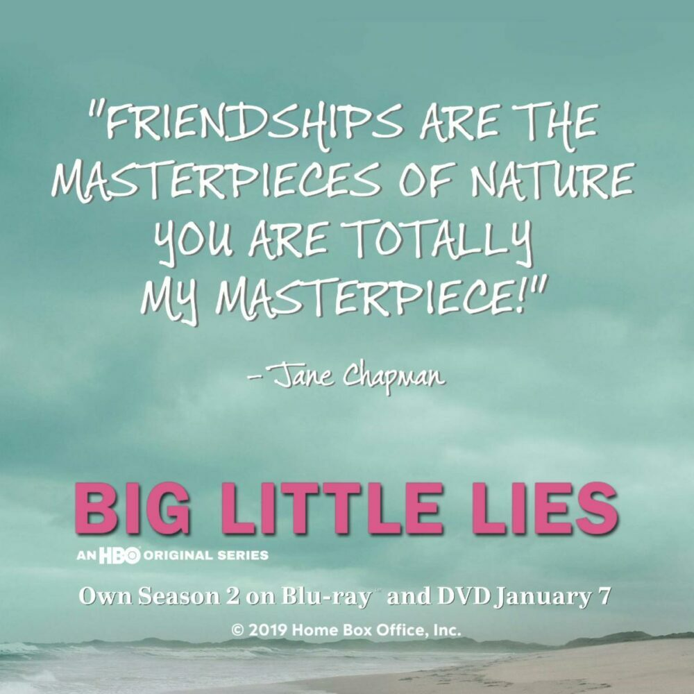 Big Little Lies: The Complete Second Season: Blu-Ray/ DVD #BigLittleLies