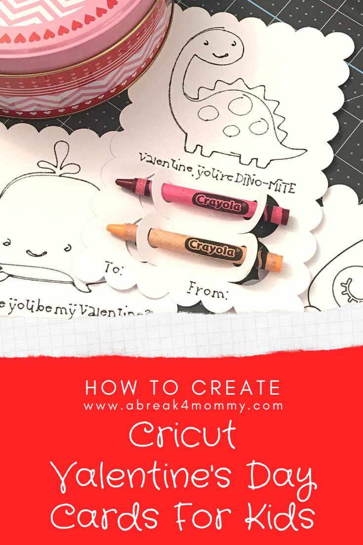 These easy to make Cricut Valentine's Day cards for kids are perfect to create with younger kids. These are great if you don't want to give out candy.