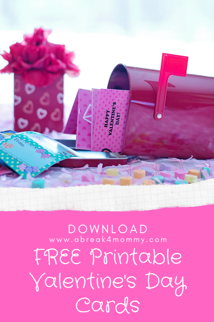 Have your kids surprise their classmates with these cute FREE Printable Valentine's Day Cards and let them have fun decorating them and personalizing them for their friends.