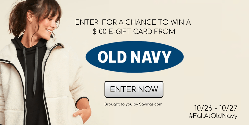 Old Nave Giveaway #Fallatoldnavy